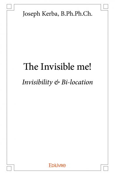 The Invisible me!